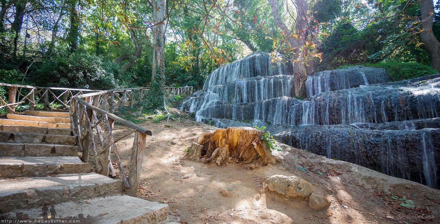 Monasterio de piedra en zaragoza for Cascadas artificiales de piedra